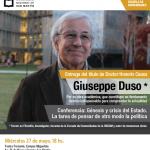 Entrega de Doctorado Honoris Causa a Giuseppe Duso
