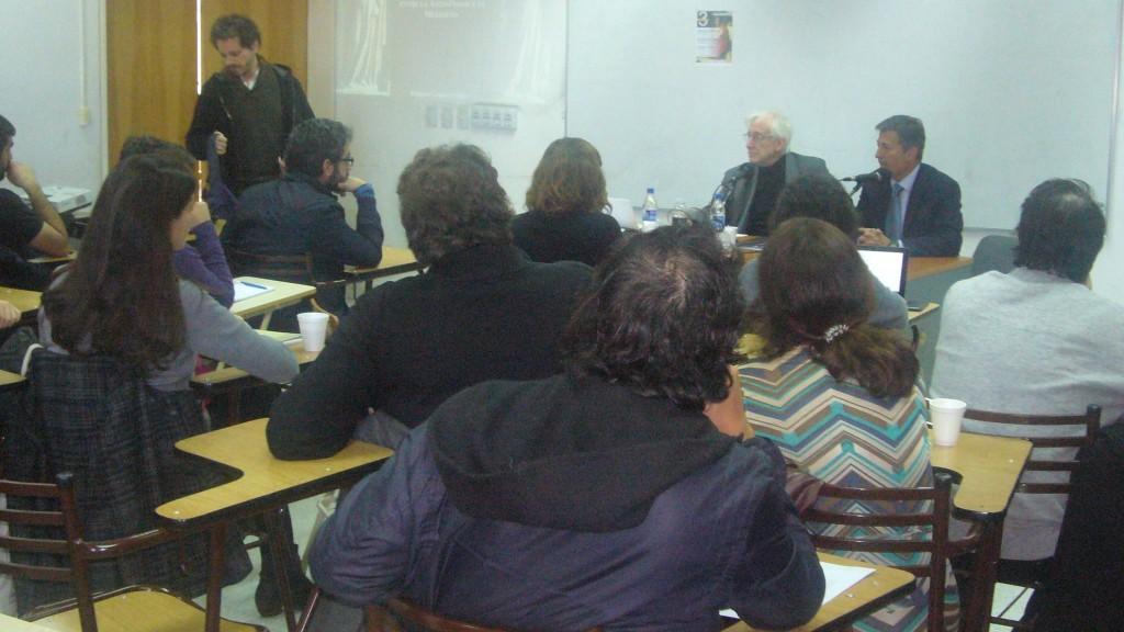Rodrigo Laham Cohen en el Seminario de Estudios Avanzados