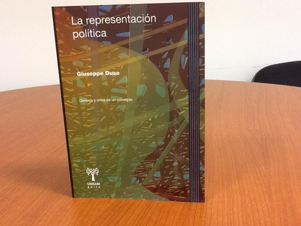 Giuseppe Duso: La representación política. Génesis y crisis de un concepto