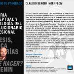 """Seminario de Posgrado: """"Historia Conceptual y Genealogía del Revolucionario Profesional"""""""