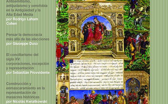 Publicación del segundo número de Conceptos Históricos
